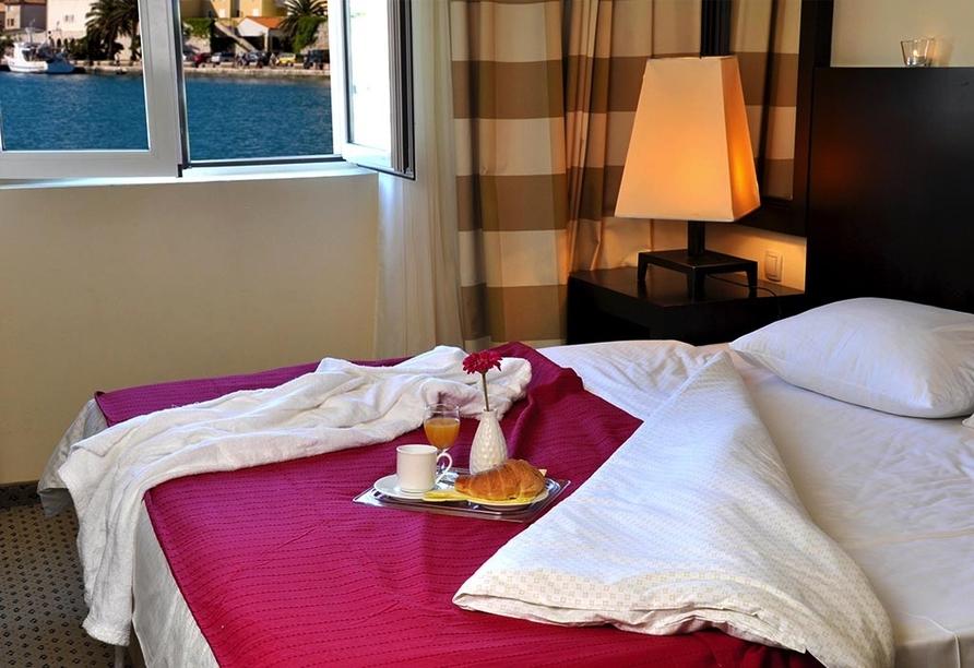 Hotel International in Rab auf der Insel Rab, Zimmerbeispiel