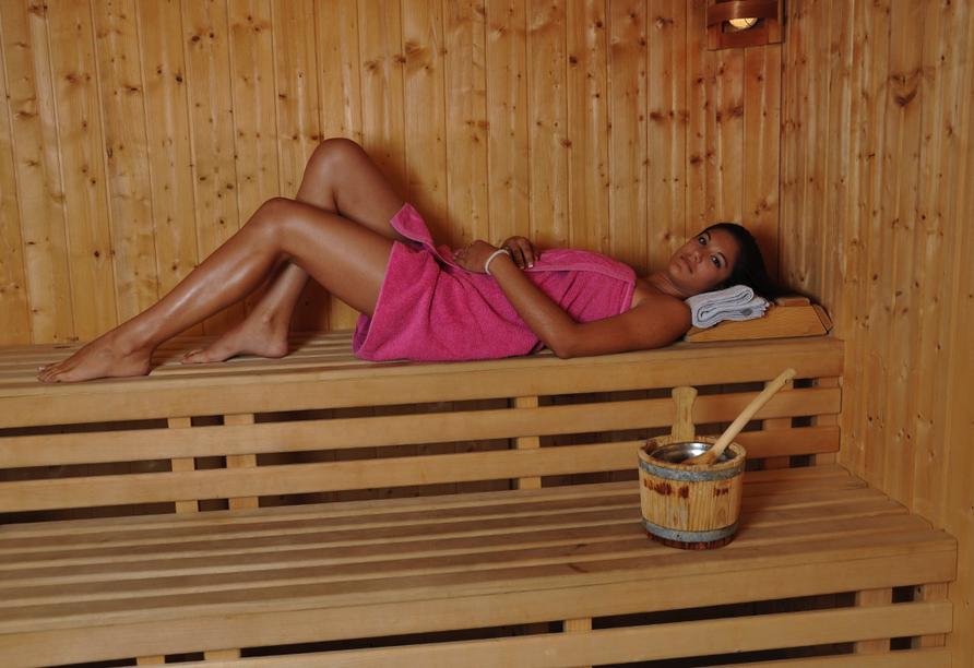 Hotel International in Rab auf der Insel Rab, Sauna