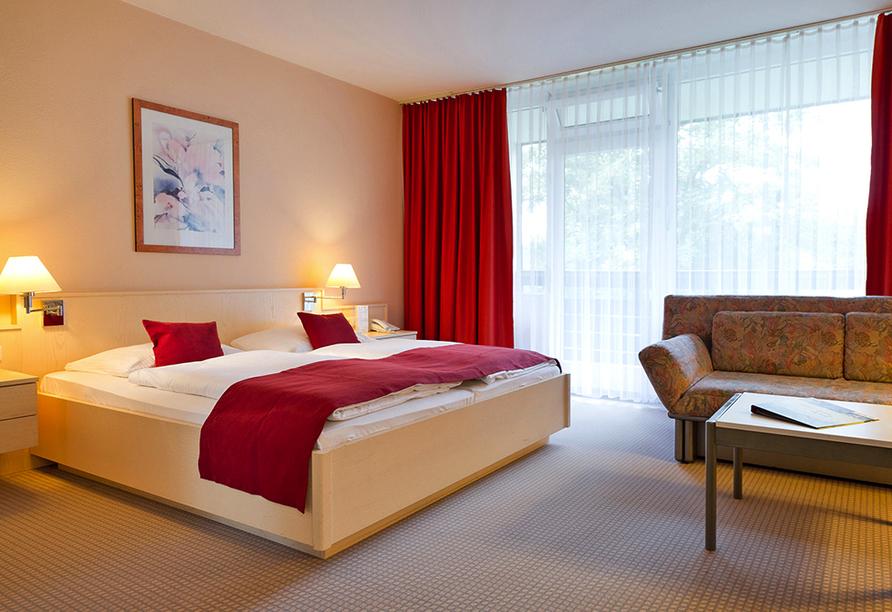 Rhön Park Hotel in Hausen-Roth in der Rhön, Beispiel Doppelzimmer Standard