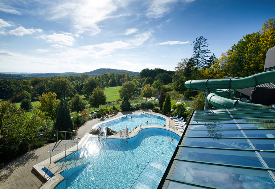 Rhön Park Hotel in Hausen-Roth in der Rhön, Pool