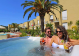 Le Acacie Hotel & Residence in Capoliveri Italien, Whirlpool