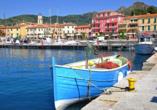Le Acacie Hotel & Residence in Capoliveri Italien, Ausflugsziel Porto Azzurro