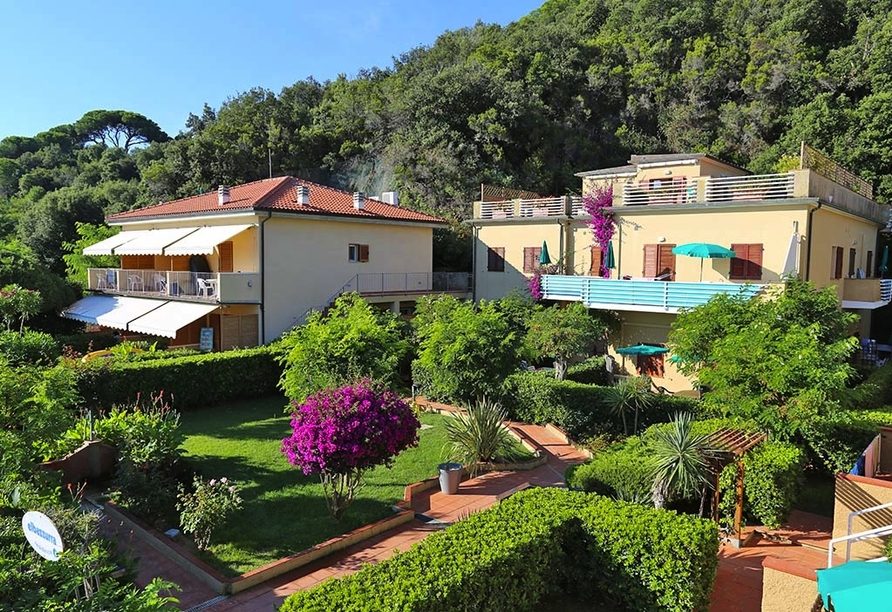 Le Acacie Hotel & Residence in Capoliveri Italien, Haus