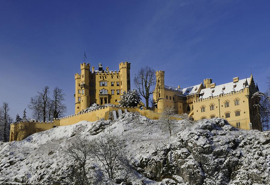 Best Western Panoramahotel Talhof in Wängle bei Reutte in Tirol, Ausflugsziel Schloss Hohenschwangau