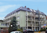 HotelAtol Resort in Swinemünde, Polnische Ostsee, Außenansicht