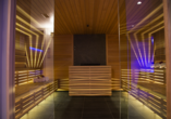 Blu Hotels Senales in Kurzras Schnastal Südtirol, Sauna