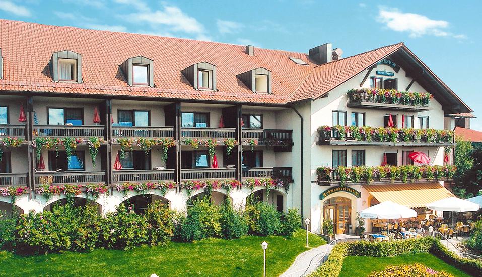 Hotel Resort Birkenhof in Bad Griesbach im bayerischen Bäderdreieck, Außenansicht