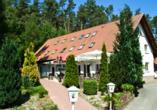 Hotel Haus Waldesruh in Fünfseen/Petersdorf Außenansicht
