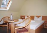 Hotel Haus Waldesruh in Fünfseen/Petersdorf Zimmer