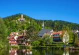 Kronen Hotel, Bad Liebenzell, Schwarzwald, Stadt