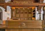 Kronen Hotel, Bad Liebenzell, Schwarzwald, Rezeption