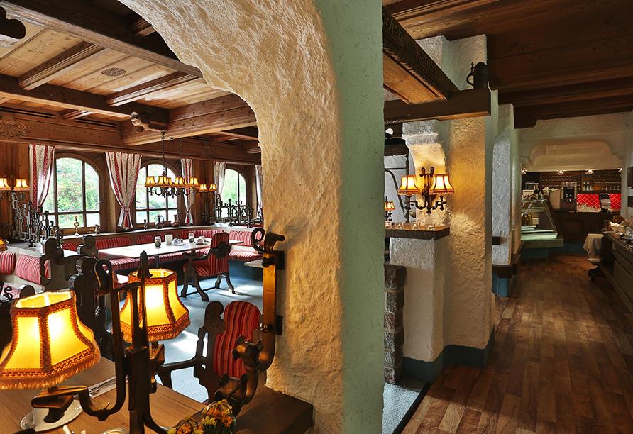 Kronen Hotel in Bad Liebenzell, Schwarzwald, Restaurant