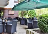 Kronen Hotel in Bad Liebenzell, Terrasse
