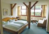 Berghotel Friedrichshöhe in Altenberg im Erzgebirge, Zimmerbeispiel