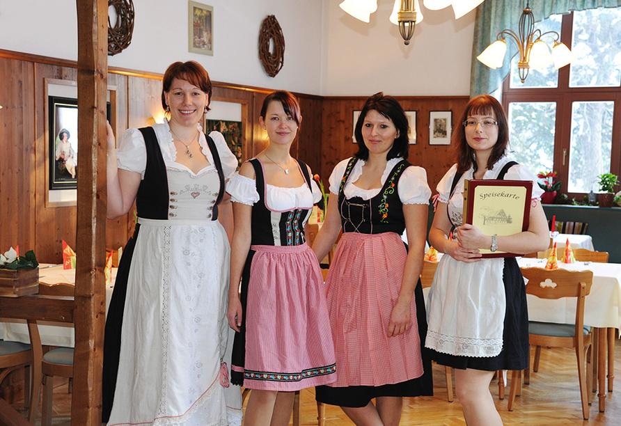 Berghotel Friedrichshöhe in Altenberg, Team