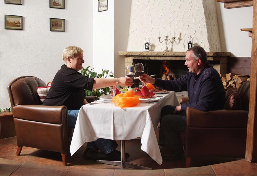 Berghotel Friedrichshöhe in Altenberg, Abendessen