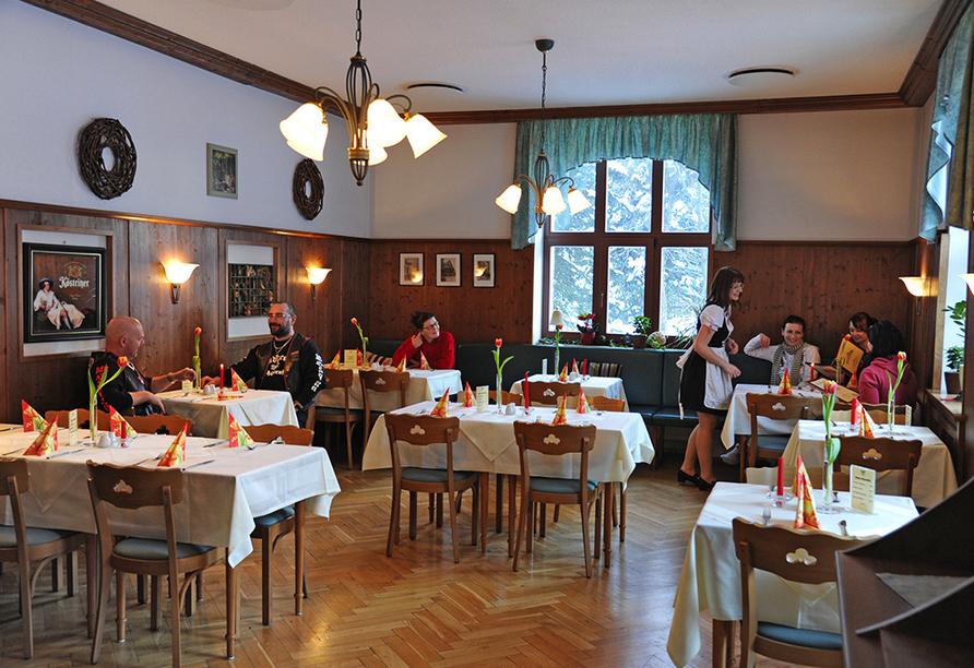 Berghotel Friedrichsshöhe in Altenberg, Restaurant