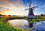 Hotel De Bonte Wever, Windmühle