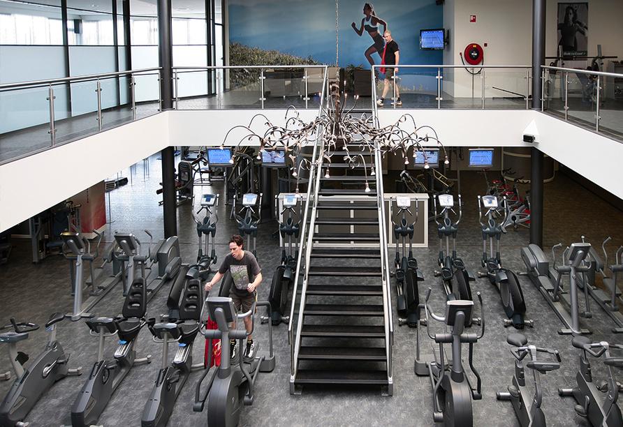 Hotel De Bonte Wever, Fitnessraum