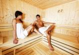 Ferienhotel Alber in Mallnitz in Kärnten Sauna