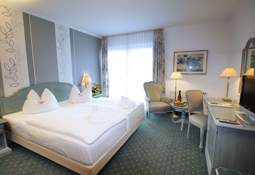Residenz Hotel Bad Frankenhausen Zimmerbeispiel