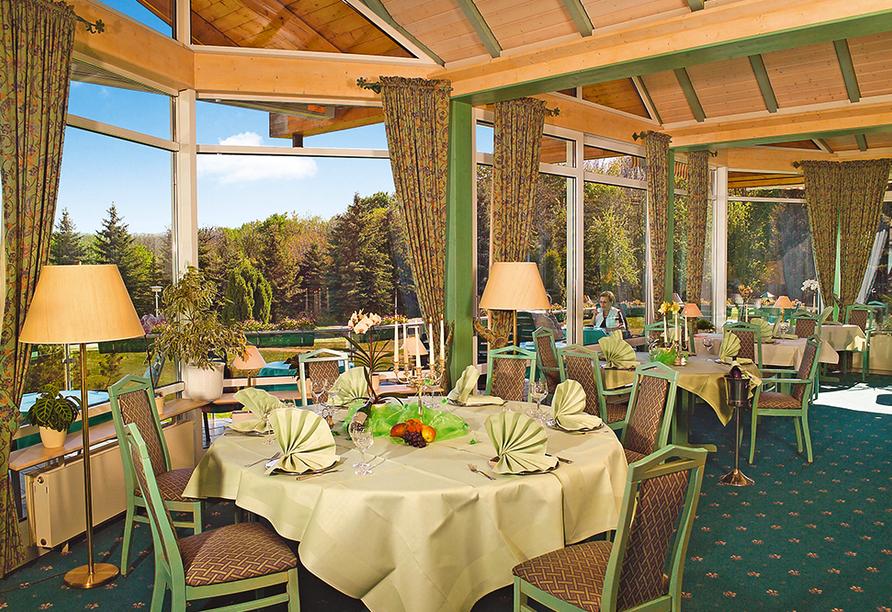 Berghotel Vogelherd, Restaurant