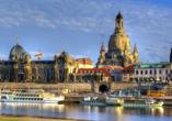 Hotel Reichskrone in Heidenau, Ausflugsziel Dresden