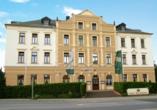 Hotel Reichskrone in Heidenau, Außenansicht