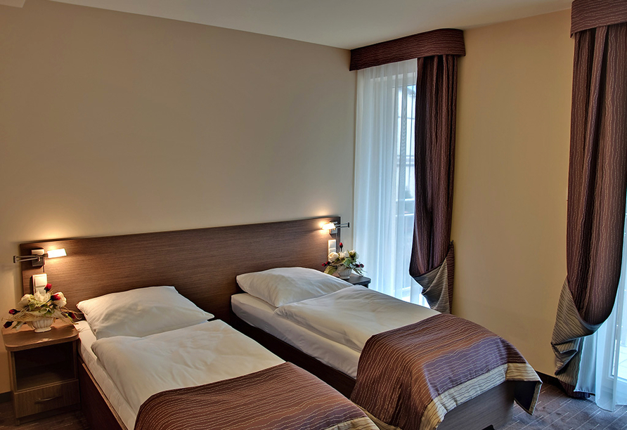 Hotel Villa Martini in Misdroy an der Polnischen Ostsee, Zimmerbeispiel