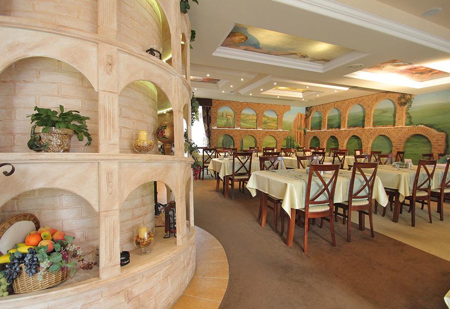 Hotel Villa Martini in Misdroy an der Polnischen Ostsee, Restaurant