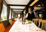 CAREA Ferien- & Reitsport-Hotel Brunnenhof in Suhlendorf in der Lüneburger Heide Restaurant