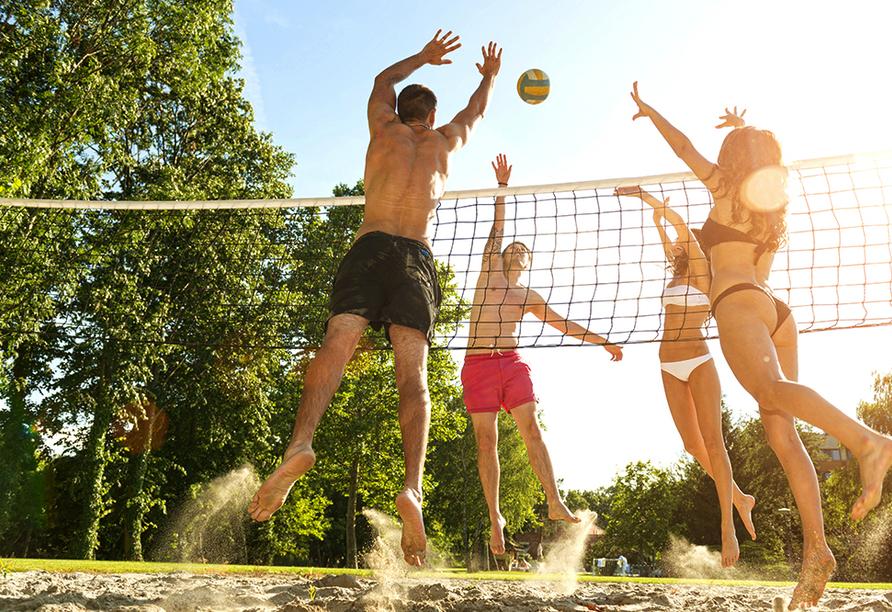 CAREA Ferien- & Reitsport-Hotel Brunnenhof in Suhlendorf in der Lüneburger Heide Volleyball