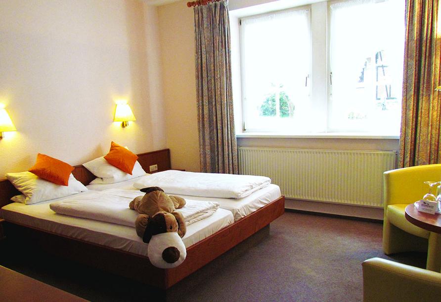 CAREA Ferien- & Reitsport-Hotel Brunnenhof in Suhlendorf in der Lüneburger Heide Zimmerbeispiel