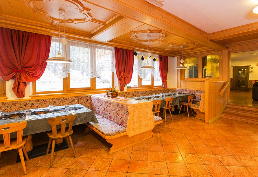 Chalet Diamant Hotel in St. Martin in Thurn, Restaurant