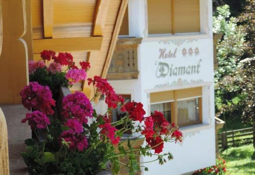 Chalet Diamant Hotel in St. Martin in Thurn, Außenansicht