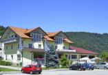 Hotel zur Post Erlau im Bayerischen Wald, Aussenansicht