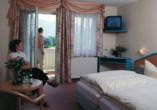 Hotel zur Post Erlau im Bayerischen Wald, Zimmerbeispiel