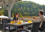 Hotel zur Post Erlau im Bayerischen Wald, Terrasse