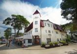 Hotel New Corner in Niechorze, Außenansicht