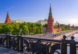 Moskau & St. Petersburg, Moskauer Kreml