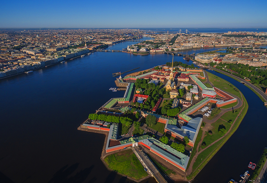 Moskau & St. Petersburg, Peter und Paul Festung