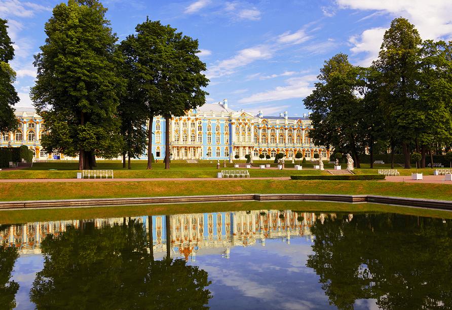 Moskau & St. Petersburg, Puschkin