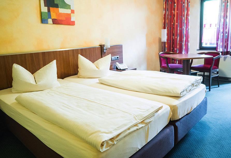 WAGNERS Hotel und Restaurant im Frankenwald in Steinwiesen, Beispiel Doppelzimmer