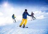 Predigtstuhl Resort in St. Englmar im Bayerischen Wald, Ski fahren