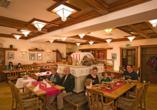 Predigtstuhl Resort in St. Englmar im Bayerischen Wald, Kaminstüberl