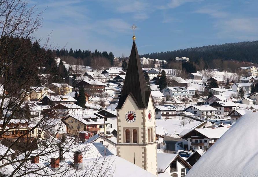 Predigtstuhl Resort in St. Englmar im Bayerischen Wald, St. Englmar