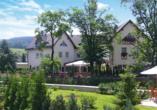 Erzgebirgshotel Bergschlösschen, Außenansicht