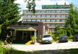 Ferienhotel Markersbach in Raschau-Markersbach im Erzgebirge, Außenansicht
