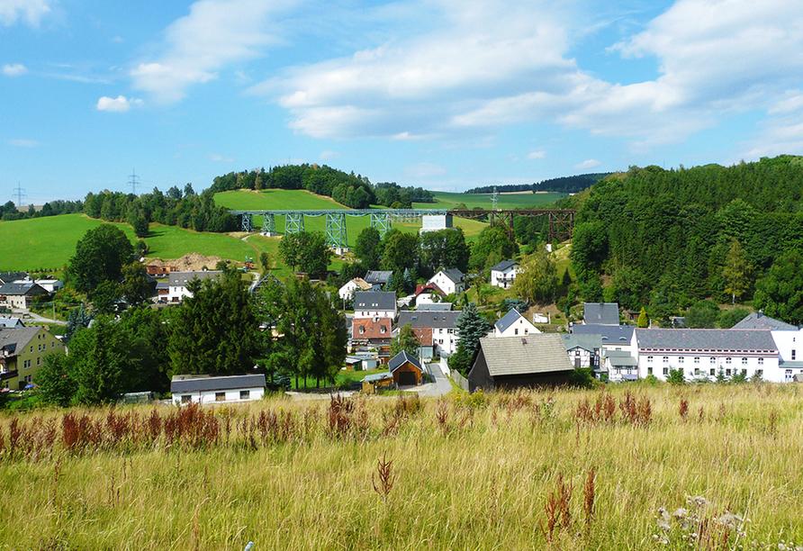 Ferienhotel Markersbach in Raschau-Markersbach im Erzgebirge, Natur