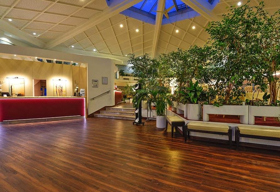 Atrium Hotel Amadeus, Osterfeld, Sachsen-Anhalt, Rezeption